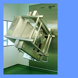 Stainless Steel Bin Blender