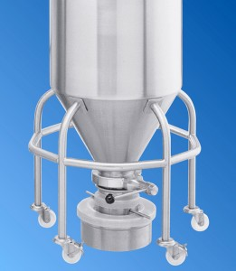 Stainless Steel Bin Funnel
